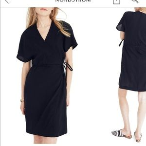 Madewell gauze wrap dress never worn with tags